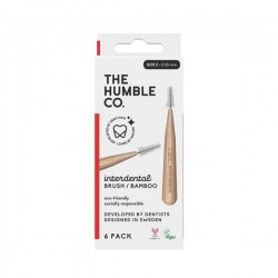 Brosse Interdentaire Rouge 0,5mm - x6 - The Humble Co
