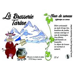 Bière La Tarine Blanche Sureau - 33cl - La Brasserie Tarine