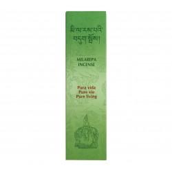 Encens Milarepa Pure vie - 20 Bâtonnets - Tierra Zen