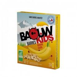 Barres Kids Bio Banane Cajou - x3 - Baouw Organic Nutrition