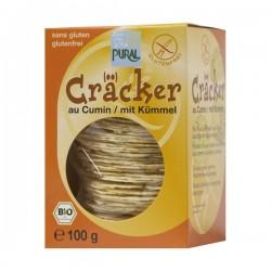 Cracker au Cumin 100g-Pural