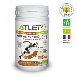 Crème Énergétique Bio Amandes – 600g – Atlet