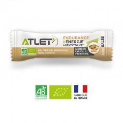 Barre Salée Énergétique Bio Noix de Cajou & Pistache – 25g – Atlet