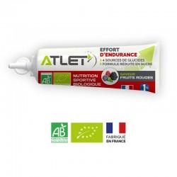 Gel Énergétique Bio Fruits Rouges – 25g – Atlet