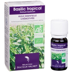 Basilic, Huile Essentielle 10ml-Docteur Valnet