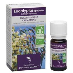 Eucalyptus globulus, Huile Essentielle 10ml-Docteur Valnet