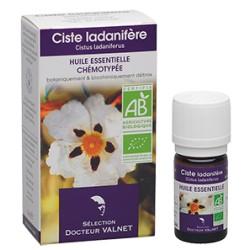 Ciste Ladanifère, Huile Essentielle 5ml-Docteur Valnet