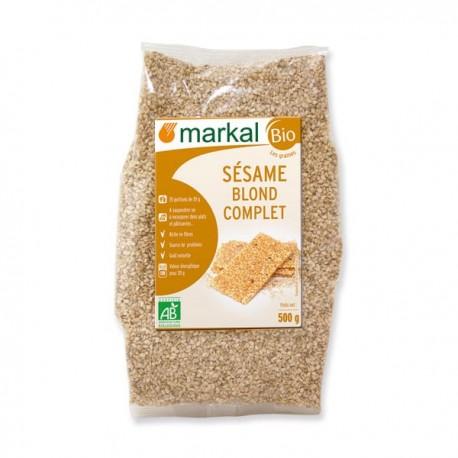 Sésame Blond Complet 500g-Markal