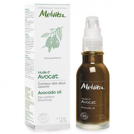 Huile Végétale d'Avocat Bio 50ml - Melvita