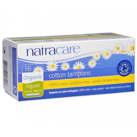 Tampons Coton Naturel avec Applicateur - x16 - Natracare