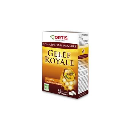 Gelée Royale - 24 Comprimés - Ortis