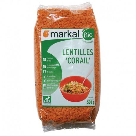 Lentilles Corail 500g-Markal