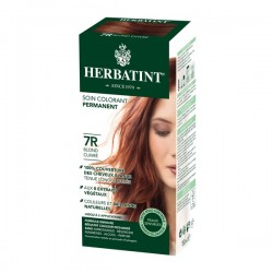 Coloration Cheveux Naturelle 7R Blond Cuivré - 150ml - Herbatint