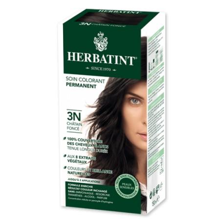 Coloration Cheveux Naturelle 3N Chatin Foncé - 150ml - Herbatint
