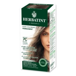 Coloration Cheveux Naturelle 7C Blond Cendré - 150ml - Herbatint