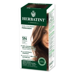 Coloration Cheveux Naturelle 5N Châtain Clair - 150ml - Herbatint