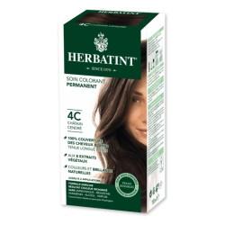 Coloration Cheveux Naturelle 4C Châtain Cendré - 150ml - Herbatint