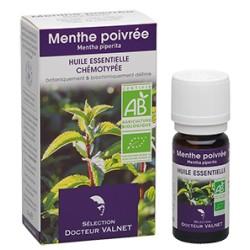 Menthe Poivrée, Huile Essentielle 10ml-Docteur Valnet