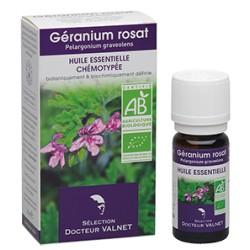 Géranium Rosat, Huile Essentielle 10ml-Docteur Valnet