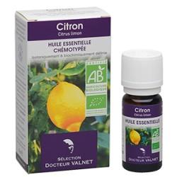 Citron, Huile Essentielle 10ml-Docteur Valnet