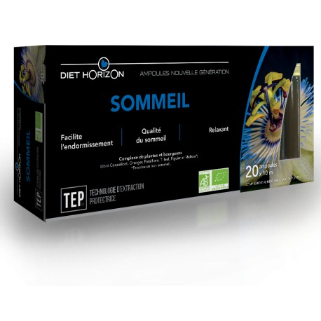Sommeil Ampoules - 20 x 10ml - Diet Horizon