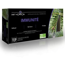 Immunité Ampoules - 20 x 10ml - Diet Horizon
